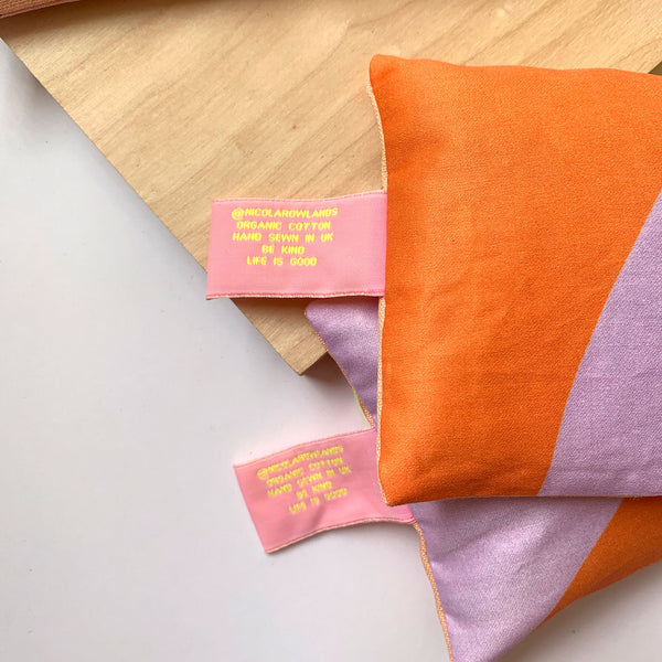 Handmade Lavender Bag: BUSY RELAXING and overthinking