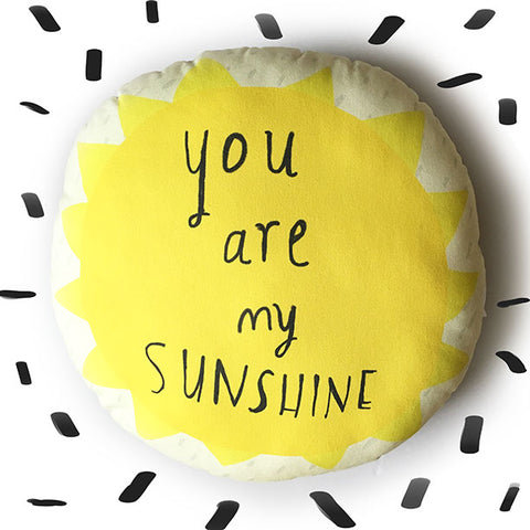 Sunshine cushion