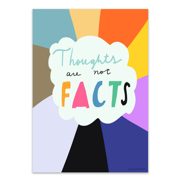 Thoughts are not facts print