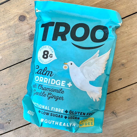 Troo porridge: calm with Chamomile & Gentle Ginger 400g
