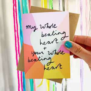Whole Beating Heart card