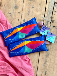 Handmade Lavender Bag: Hurtling through space
