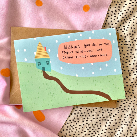 Cosy times summertime card