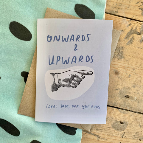 Onwards & Upwards card