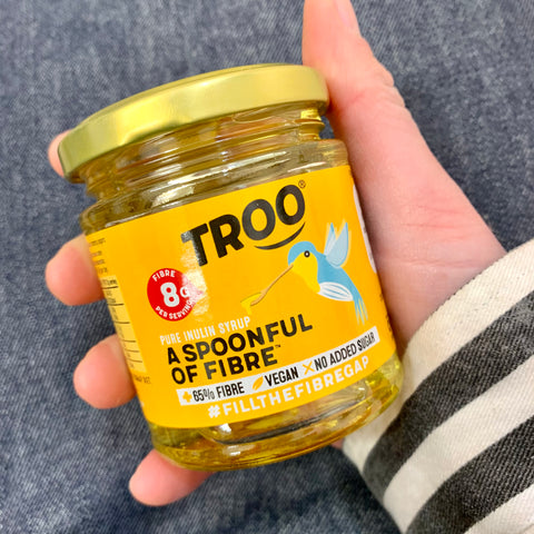TROO spoonful of fibre honey alternative