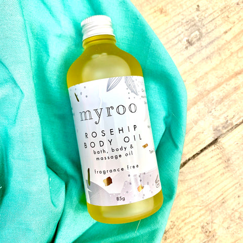 Myroo Rosehip Body Oil