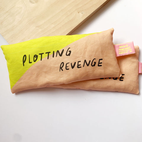 Handmade Lavender Bag: PLOTTING REVENGE