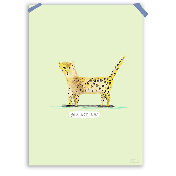 you got this leopard a4 print