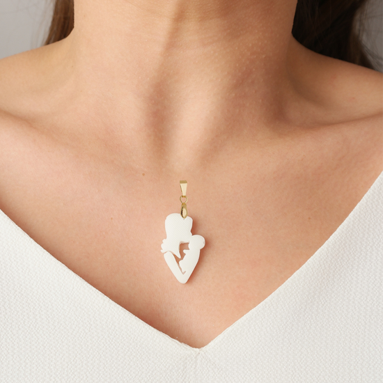 Load image into Gallery viewer, Mother's kiss Pendent - Lackto Kit
