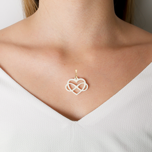 Load image into Gallery viewer, Infinite Heart Pendent - Lackto Kit