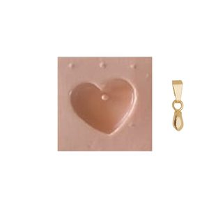 Load image into Gallery viewer, Chubby Heart - Extra Mold (Silicone mold + Link)