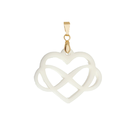 Infinite Heart Pendent - Lackto Kit