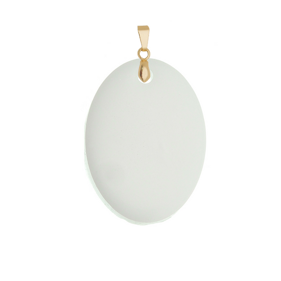 Oval Pendant - Lackto Kit
