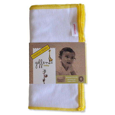 Hemp/Organic Cotton French Terry Cloth Wipes