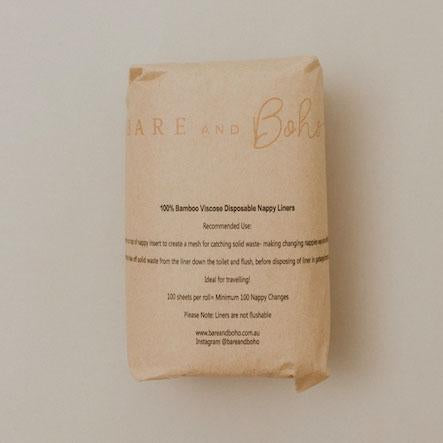 Disposable Bamboo Nappy Liners