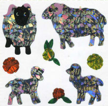 Load image into Gallery viewer, Pack of Prismatic Stickers - Sheep Family