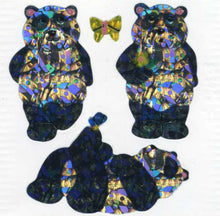 Load image into Gallery viewer, Pack of Prismatic Stickers - Pandas