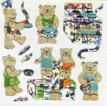 Load image into Gallery viewer, Pack of Prismatic Stickers - Micro Teddy Kitchen