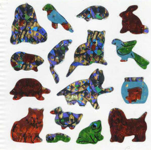 Pack of Prismatic Stickers - Micro Pets