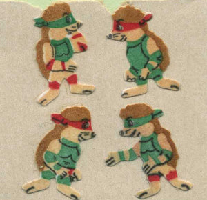 Pack of Furrie Stickers - Ninja Hedgehogs