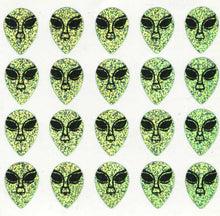 Load image into Gallery viewer, Pack of Prismatic Stickers - Alien