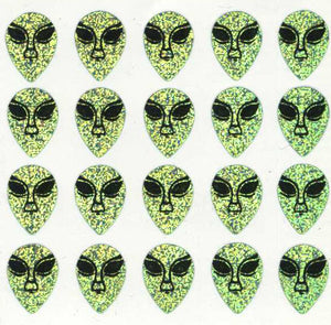 Pack of Prismatic Stickers - Alien