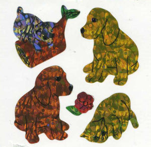 Pack of Prismatic Stickers - Puppies & Kittens