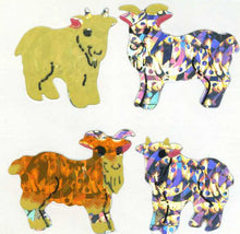Load image into Gallery viewer, Pack of Prismatic Stickers - Goat Kids