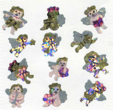 Load image into Gallery viewer, Pack of Prismatic Stickers - Angels