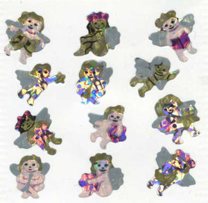 Pack of Prismatic Stickers - Angels