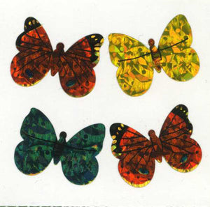 Pack of Prismatic Stickers - Butterflies