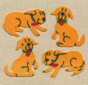 Pack of Furrie Stickers - Happy Dogs