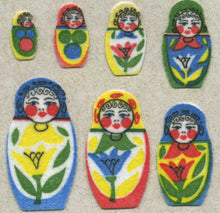 Load image into Gallery viewer, Pack of Furrie Stickers - Russian Dolls