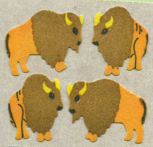 Pack of Furrie Stickers - Buffaloes