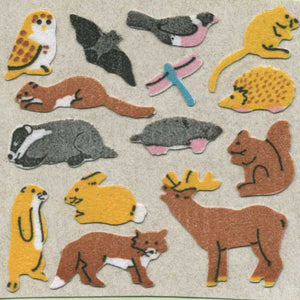 Pack of Furrie Stickers - Micro Forest Friends