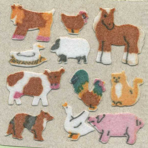 Pack of Furrie Stickers - Micro Farmyard Friends