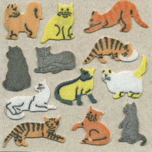 Load image into Gallery viewer, Pack of Furrie Stickers - Micro Cats