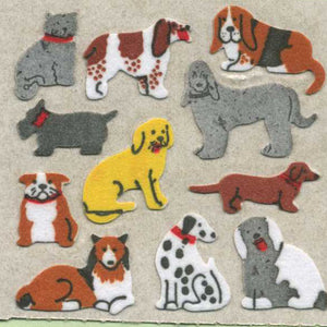 Pack of Furrie Stickers - Micro Dogs