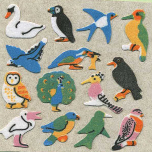 Pack of Furrie Stickers - Micro Birds