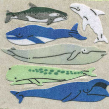 Load image into Gallery viewer, Pack of Furrie Stickers - Micro Whales