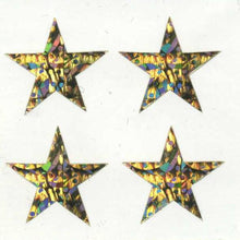 Load image into Gallery viewer, Pack of Sparkly Prismatic Stickers - 4 Stars