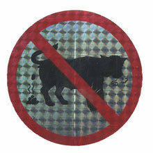 Load image into Gallery viewer, Pack of Prohibitive Prismatic Stickers - No Bull