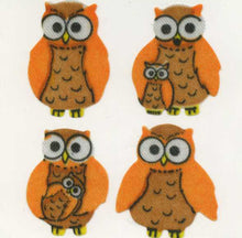 Load image into Gallery viewer, Pack of Silkie Stickers - Mother & Baby Owl
