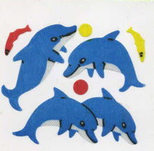 Load image into Gallery viewer, Pack of Silkie Stickers - Dolphin & Fish