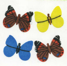 Load image into Gallery viewer, Pack of Silkie Stickers - Multi Coloured Butterflies