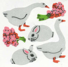 Load image into Gallery viewer, Pack of Silkie Stickers - Geese & Bunny