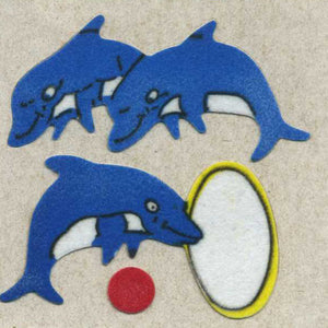 Pack of Furrie Stickers - Dolphins