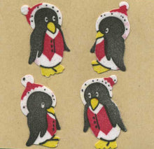 Load image into Gallery viewer, Pack of Furrie Stickers - Winter Penguins