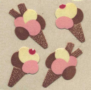 Pack of Furrie Stickers - Ice Cream