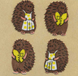 Pack of Furrie Stickers - Mr & Mrs Hedgehog